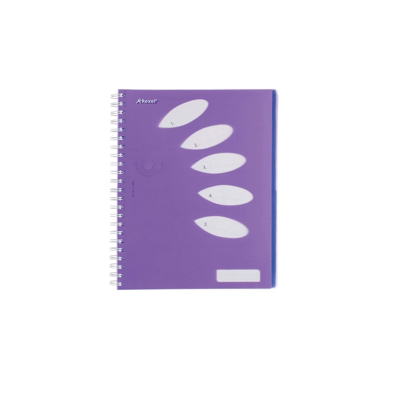 Perfect Purple Rexel Joy A4 Journal