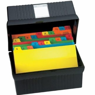 Card File Boxes